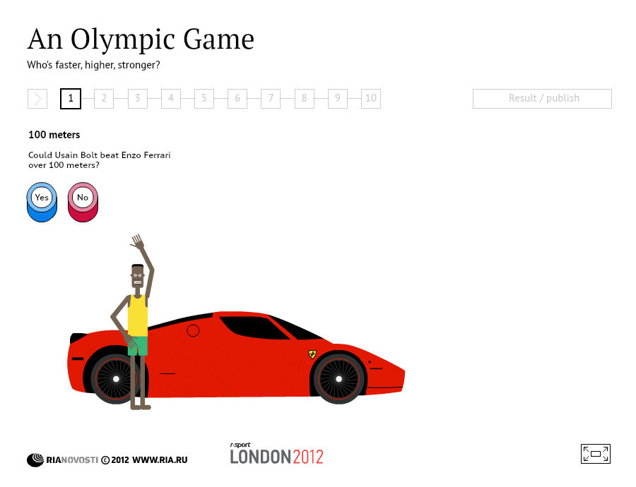 Olympic Game: Who's faster, higher, stronger?