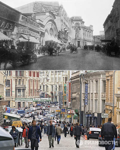How Moscow Has Changed over 100 Years