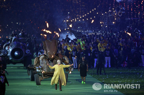 2012 Summer Paralympics Closing Ceremony