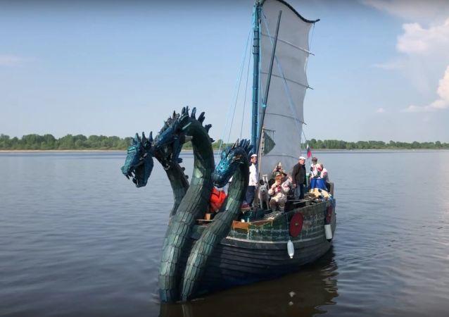 The Zmei Gorynych in Nizhny Novgorod