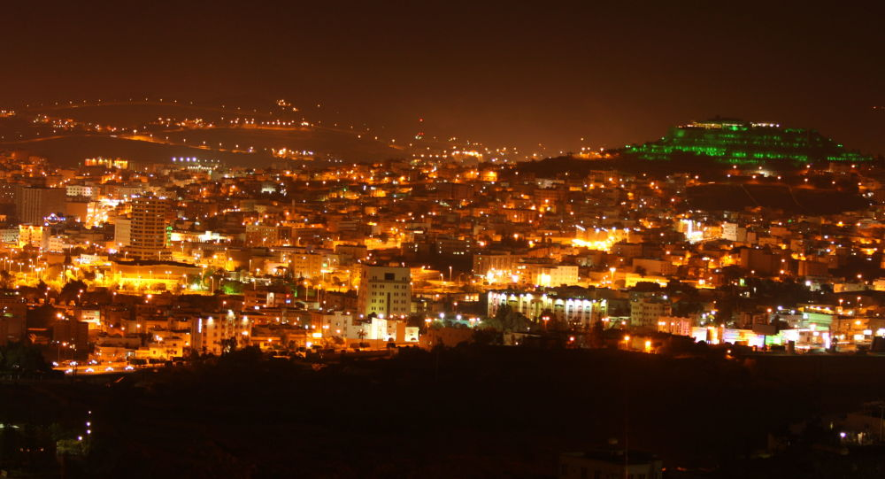 Abha at night