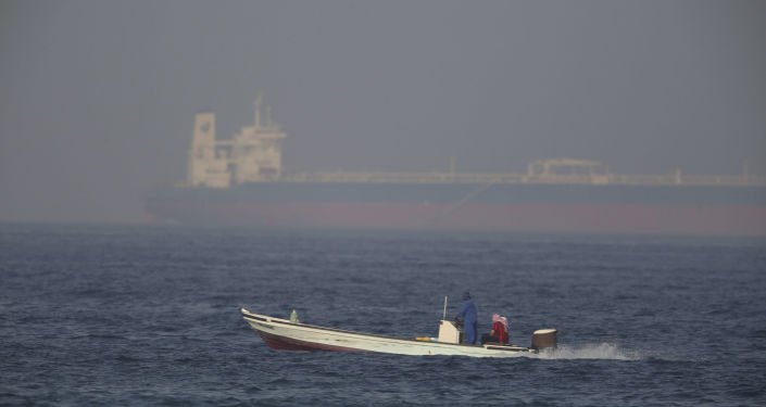 The Kokuka Courageous, one of two oil tankers targeted in an apparent attack in the Gulf of Oman