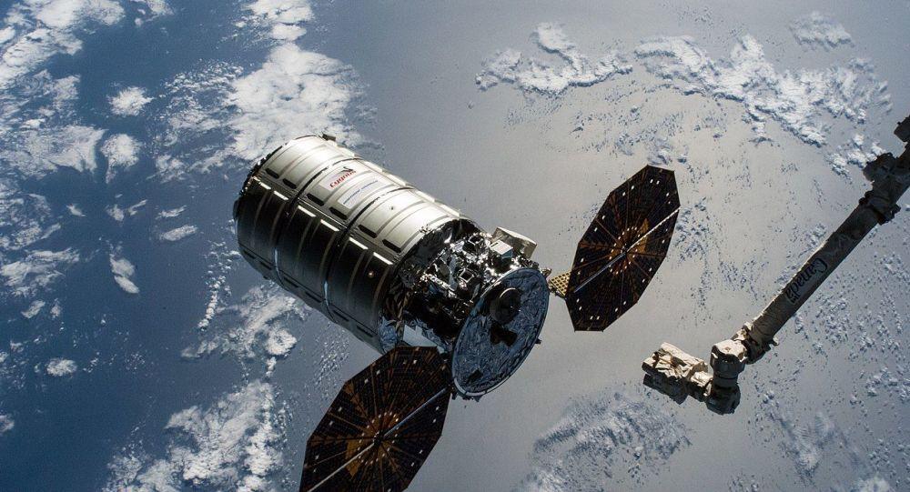 The Cygnus cargo craft