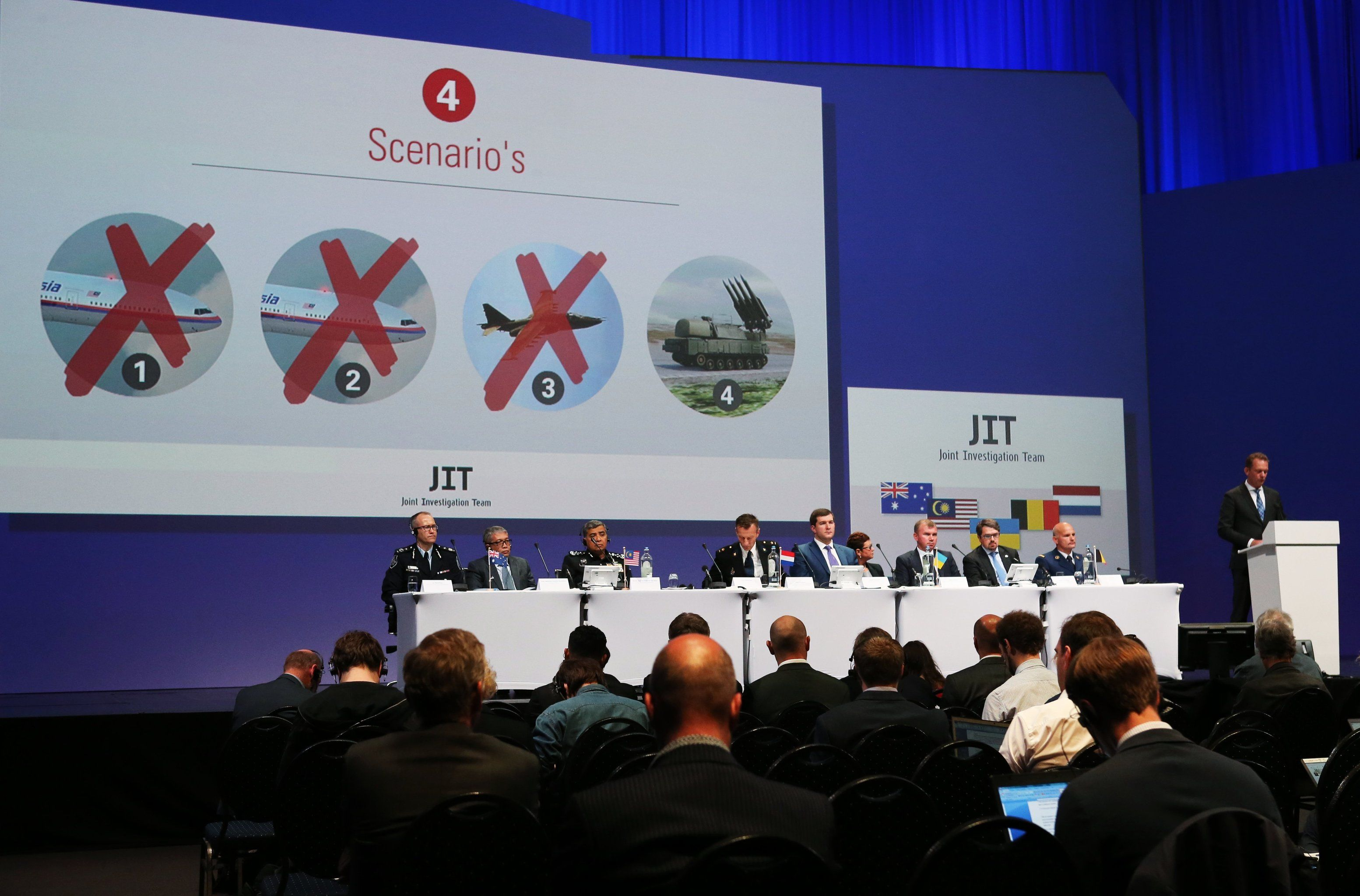 Netherlands announce preliminary investigation results of Malaysia Airlines Flight MH17 crash