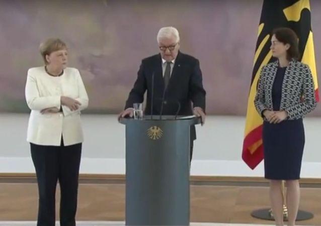 27.06.2019 - Entlassung Katarina Barley / Ernennung Christine Lambrecht - Neue Justizministerin