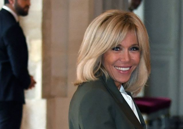 French President's wife Brigitte Macron (File)