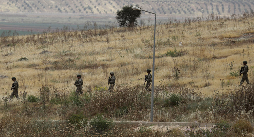 Syrian regime hits area near Turkish observation post
