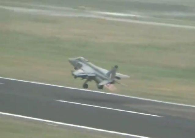 IAF Jaguar aircraft