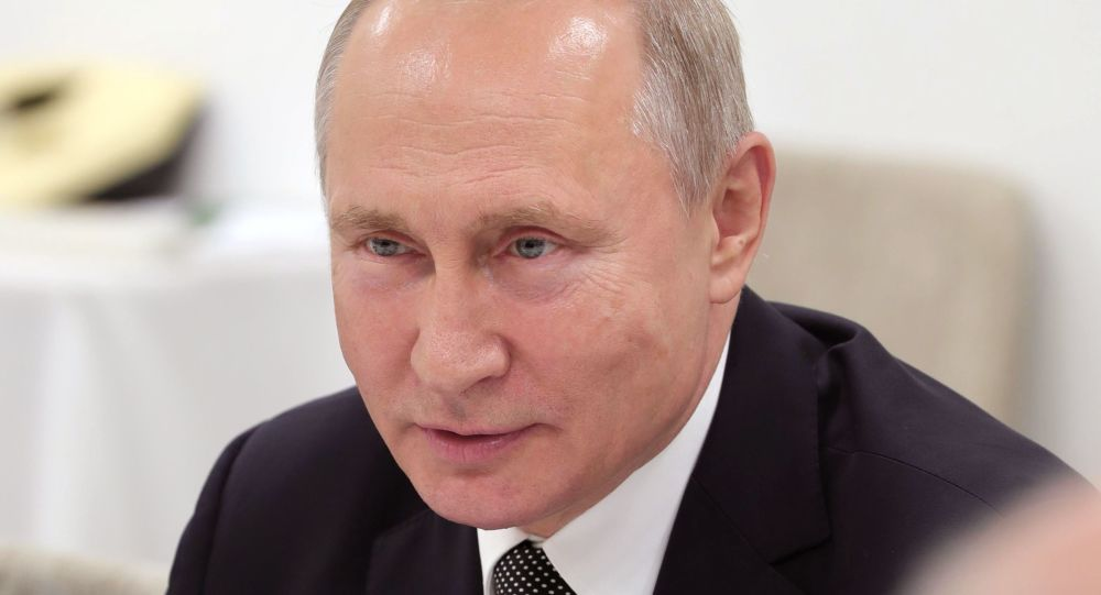 Putin Shoots Down Elton John's Concerns About LGBT People's Lot in Russian Federation