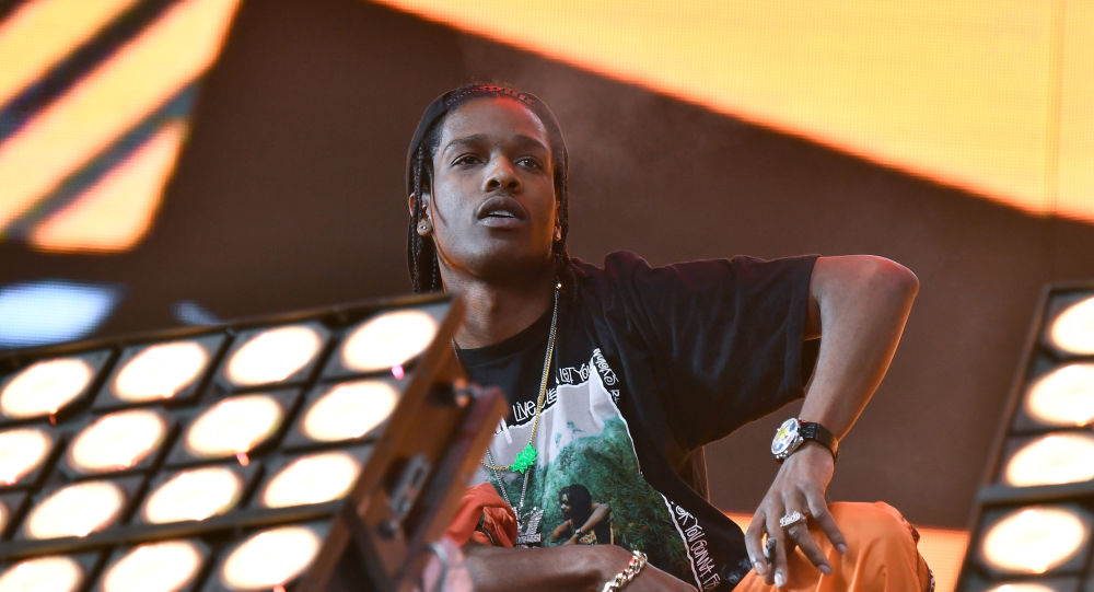 ASAP Rocky arrested in Sweden on suspicion of assault