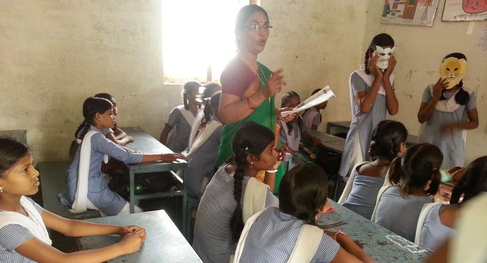 Girls School Madhavganj Sherpura, MP
