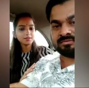 In the video message posted on social media, while requesting that her politician father Rajesh Mishra allow them to live peacefully, Sakshi Mishra announced that she has married a man named Ajitesh Kumar.
