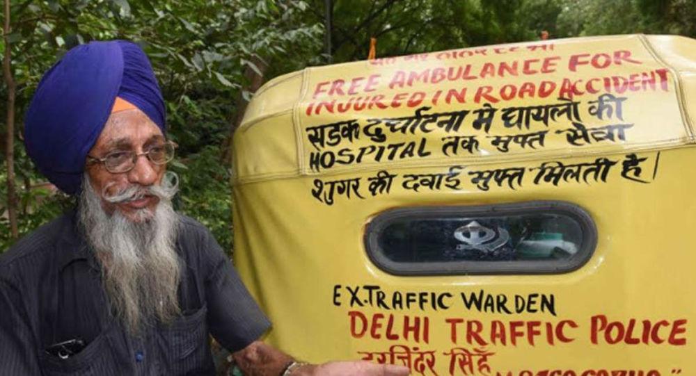 Harjinder Singh, the 76-Year-Old Sikh