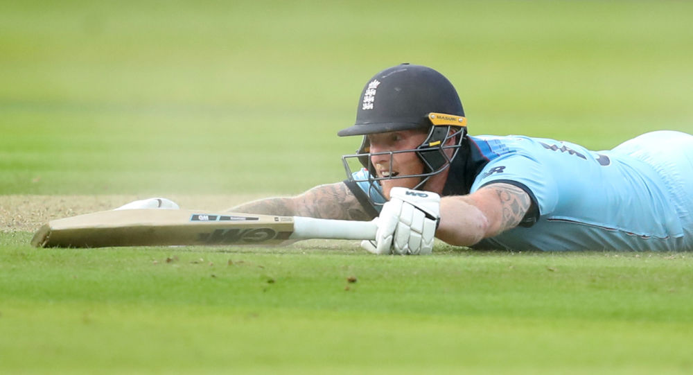 Cricket - ICC Cricket World Cup Final - New Zealand v England - Lord's, London, Britain - July 14, 2019   England's Ben Stokes in action