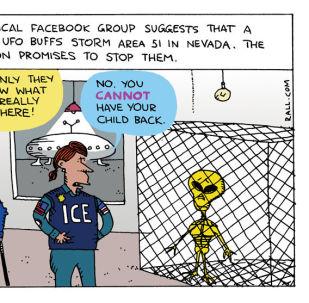 No Fun in Area 51