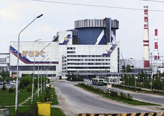 Kalininskaya Nuclear Power Plant. Photo taken on June 1, 2003