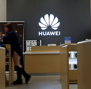 A view of a Huawei store in Vina del Mar, Chile  July 18, 2019