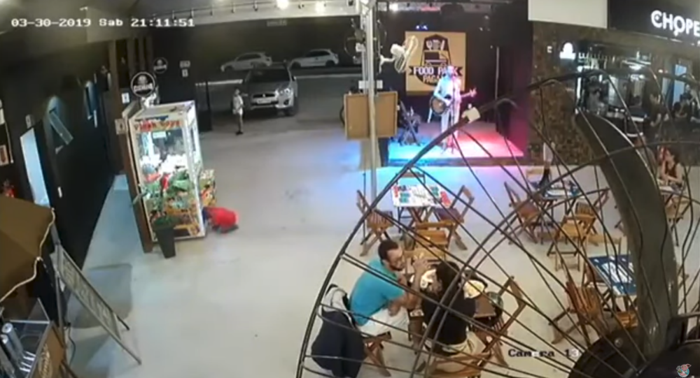 Whoops! Kid Climbs Into Arcade Machine to Nab Prize