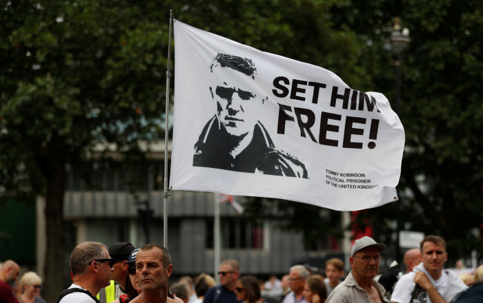 Tommy Robinson Punched by Elderly Inmate in Prison Shower for 'Acting Like a Boss' – Report