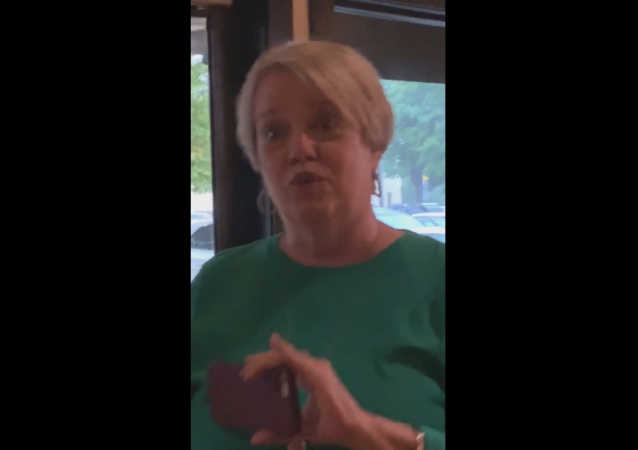 US woman caught on film using racial slur against women dining at a Bonefish Grill restaurant in North Carolina