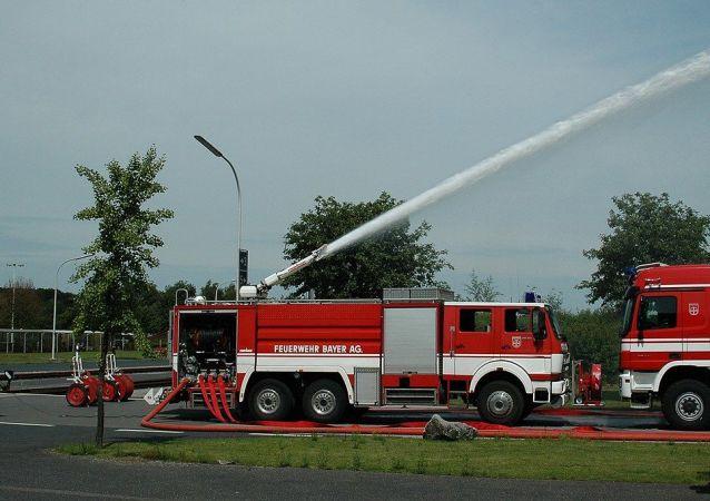 German  firefighters (File)