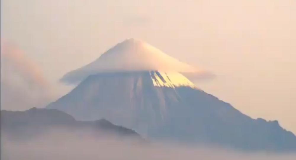 Sangay volcano