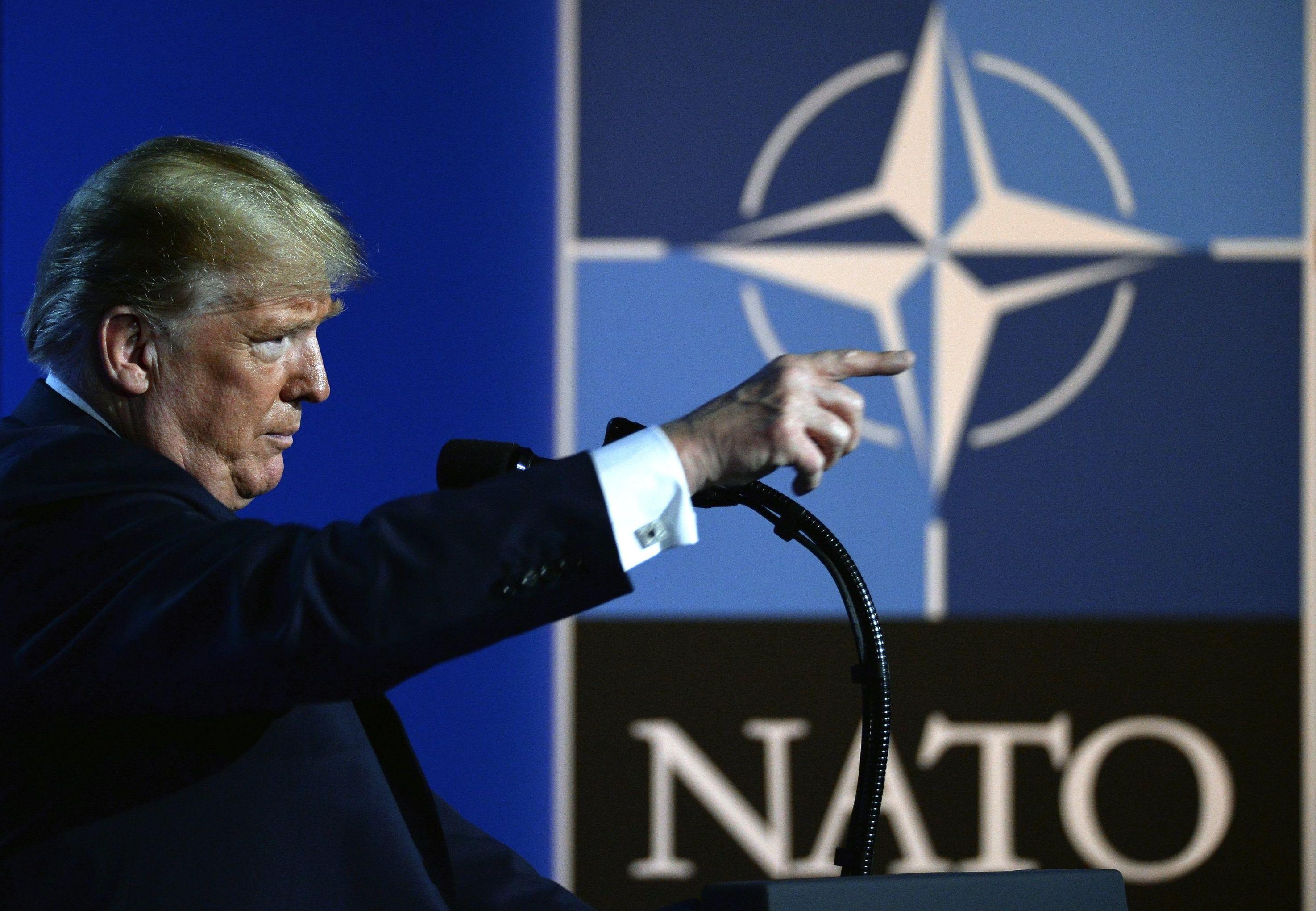 Trump plays 'troops withdrawal' card against Germany