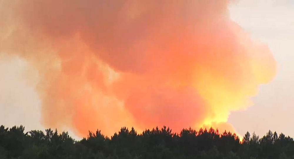 Achinsk explosion