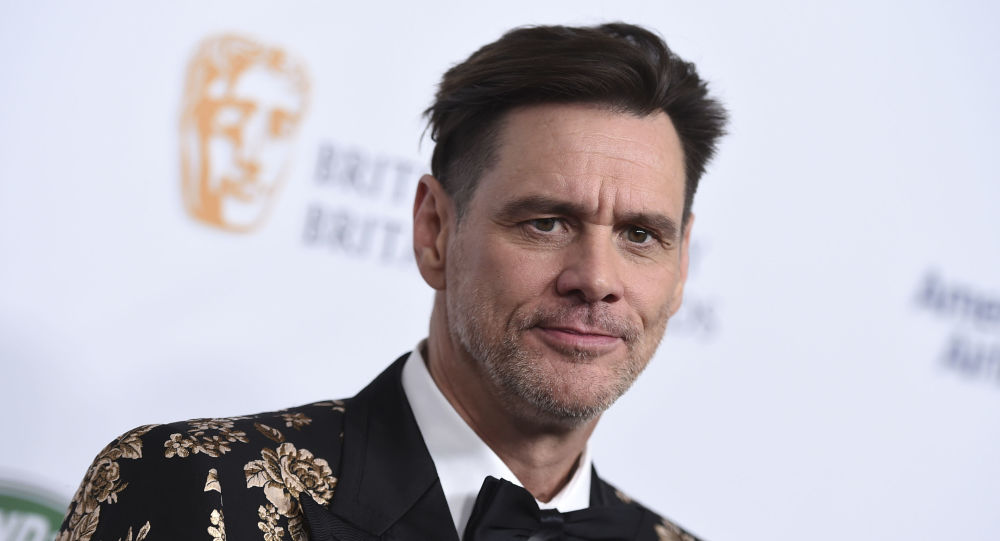 Jim Carrey arrives at the 2018 BAFTA Los Angeles Britannia Awards at the Beverly Hilton on 26 October 2018 in Beverly Hills, California.