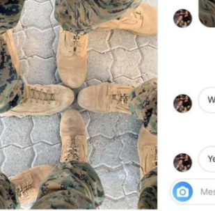 US Marine Who Shared Photo of Boots Arranged in Swastika Demoted in Rank
