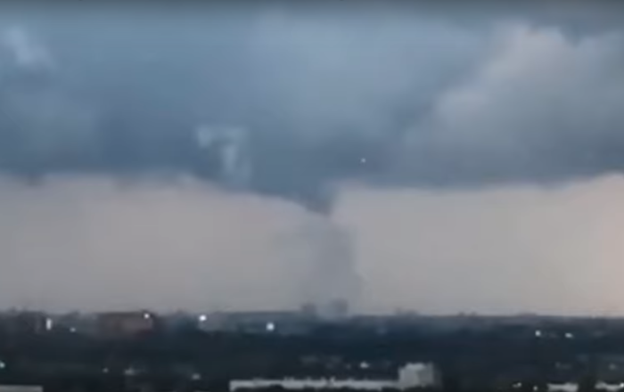 Strange Flying Objects Spotted During Tornado in Amsterdam Spark UFO Theories Online