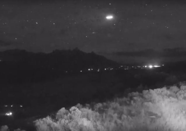 Strange light captured flying over Jackson Hole
