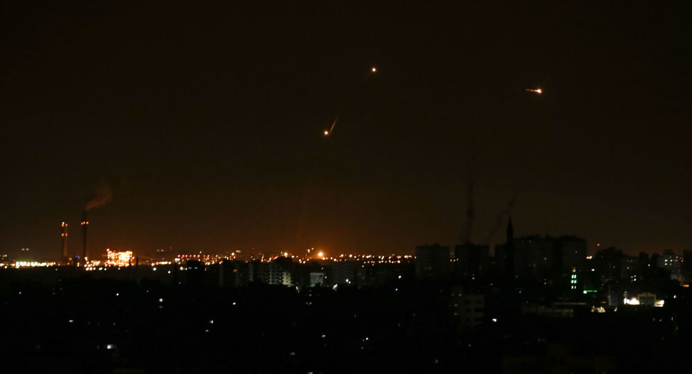 Israeli army says intercepts Gaza rockets fired at southern Israel
