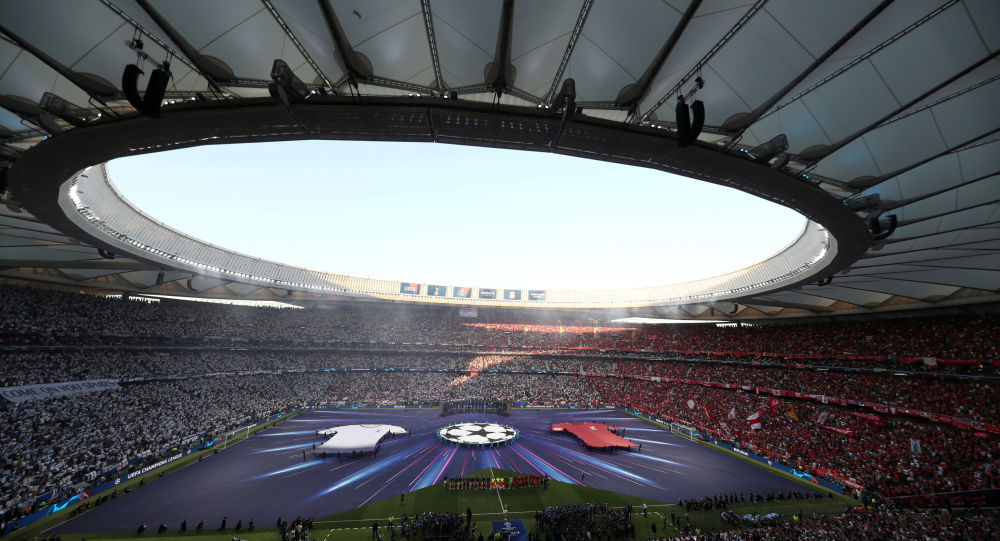 Soccer Football - Champions League Final - Tottenham Hotspur v Liverpool - Wanda Metropolitano, Madrid, Spain - June 1, 2019  General view before the match