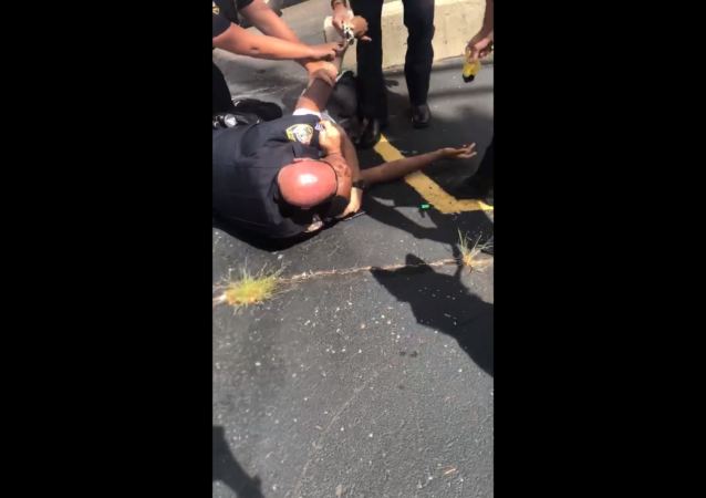 Illinois' DeKalb Police Department launch investigation into violent arrest of Elonte McDowell, who was placed in a chokehold and then struck by stun gun prongs.