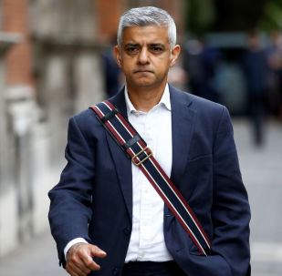 Mayor of London Sadiq Khan walks in Westminster, London, Britain August 28, 2019.