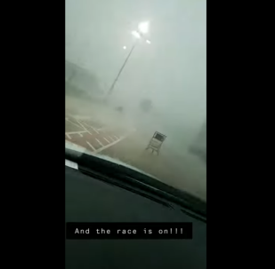 Storm-Powered Texas Shopping Carts Land in Race