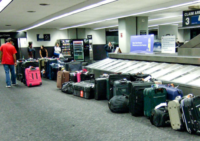 Please report any unattended luggage