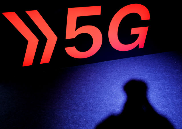 A 5G sign is pictured at NTT Docomo booth at Tokyo Game Show 2019 in Chiba, east of Tokyo, Japan, September 12, 2019
