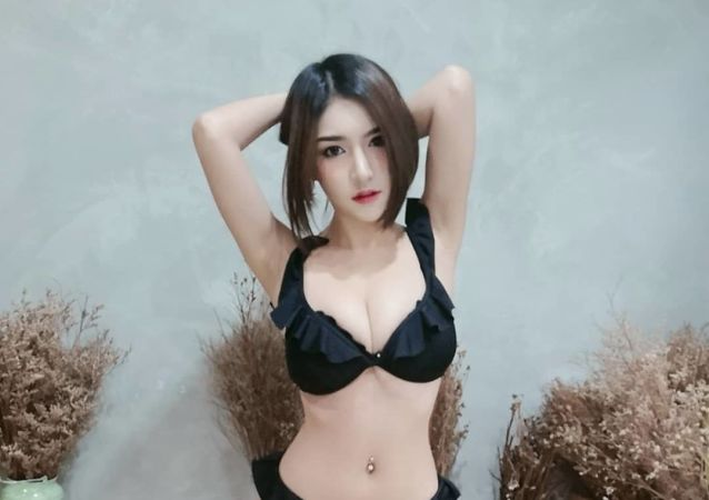 Thai model Thitim Noraphanpiphat