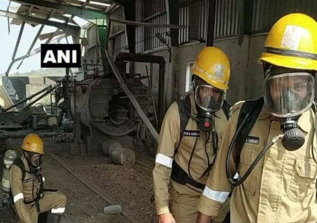 Gas leak india