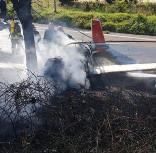 Plane crash in Italy