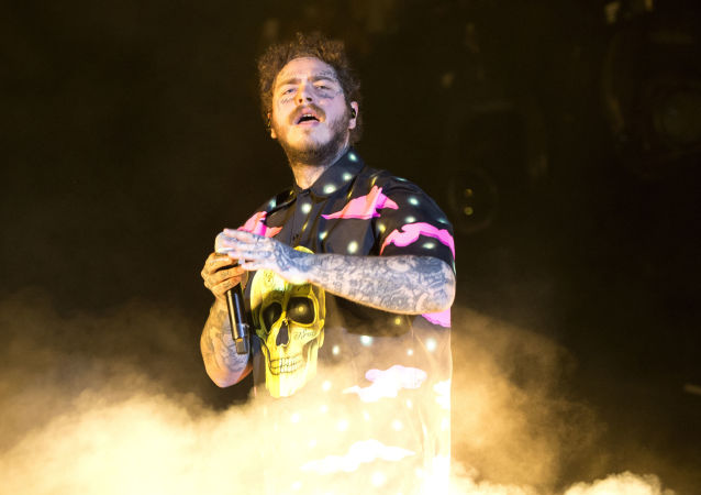 Post Malone performs on Day 3 of the 2019 Firefly Music Festival at The Woodlands on Sunday, June 23, 2019, in Dover, Del