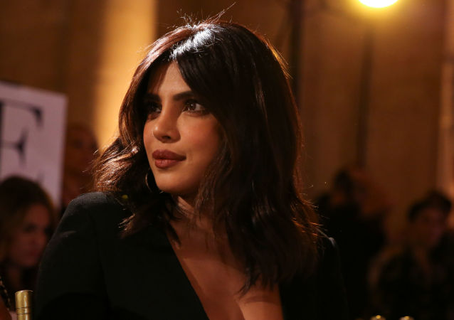 Priyanka Chopra attends the Oscar de la Renta runway show during fashion week in New York, U.S., September 10, 2019