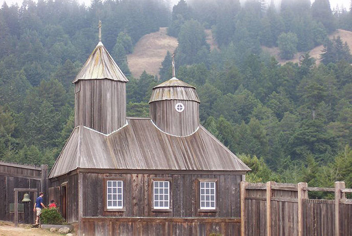 Fort Ross, originally called Fortress Ross, is a former Russian establishment in California, where the Native American Kashia lived and still do.