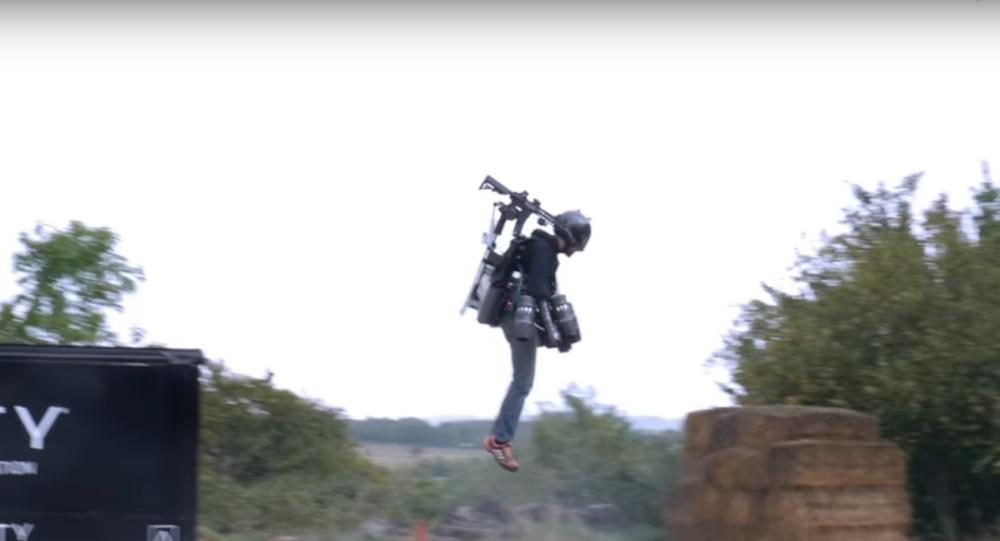 Jet Suit Head Tracking Shoulder Turret