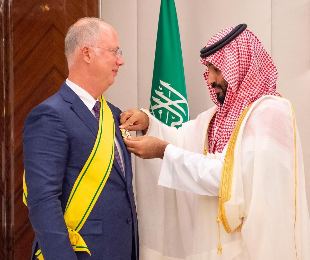 Russian Direct Investment Fund (RDIF) CEO, Kirill Dmitriev awarded by Saudi Crown Prince