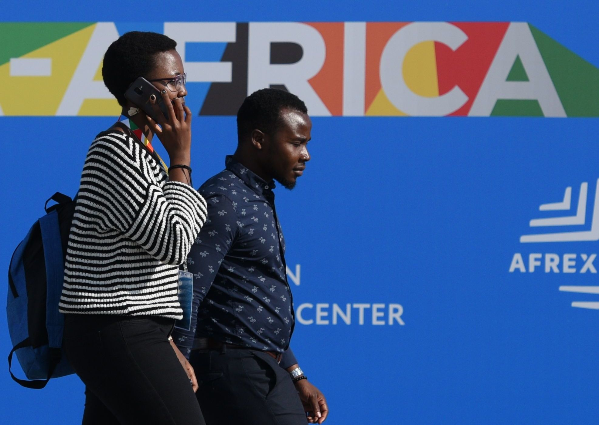 Russia-Africa Economic Forum Participants