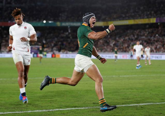 Rugby Union - Rugby World Cup - Final - England v South Africa - International Stadium Yokohama, Yokohama, Japan - November 2, 2019