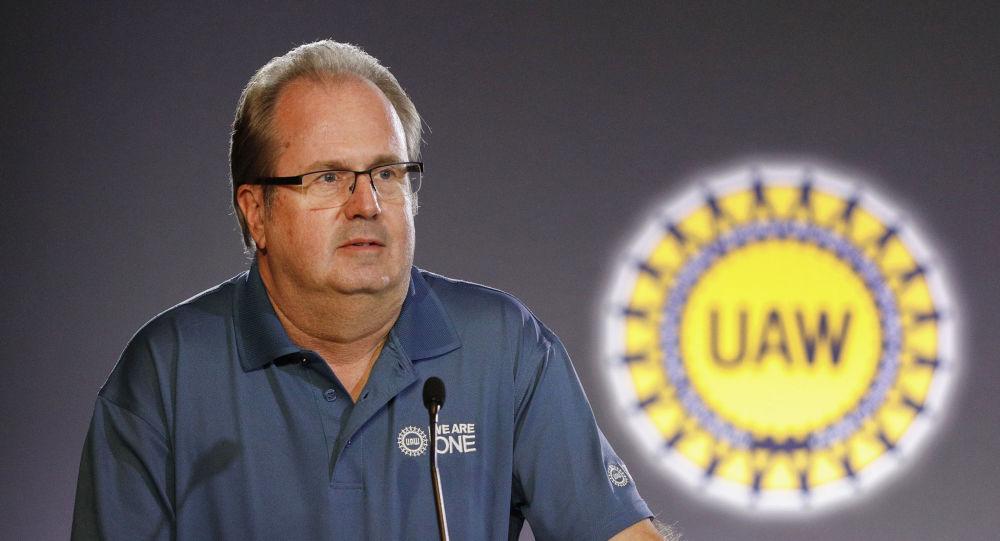 United Auto Workers President Gary Jones